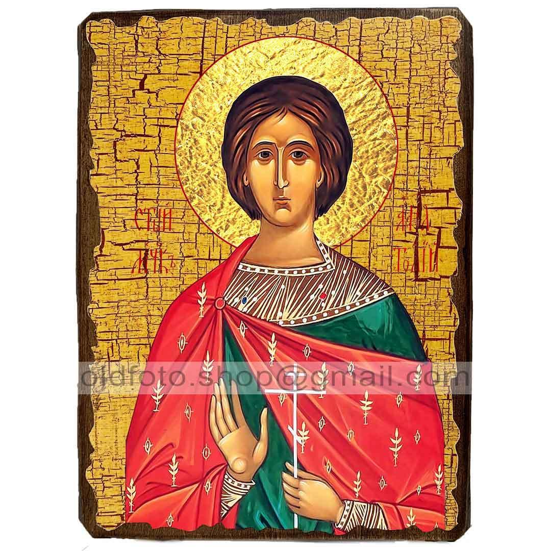 Ікона Анатолій Святий Мученик Нікейський ,ікона на дереві 130х170 мм