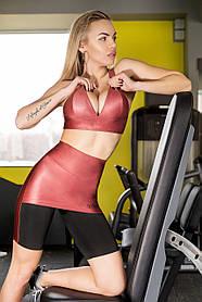 Шорты с юбкой TOTALFIT FLASH-SKIRT HW19-C44 L Розовый, Черный