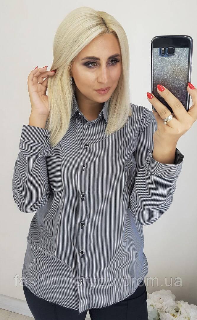 Блуза-рубашка женская Мод.7074