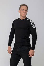 Рашгард з довгим рукавом Totalfit RMK4-C10 3XL Чорний