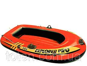 Човен надувний 160 х 94 див. 3-х камерна Intex 58355 Explorer PRO