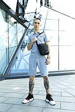 Чоловічий спортивний комплект (футболка+шорти) в стилі Nike 4 кольори + Барсетка у подарунок!, фото 2