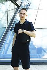 Чоловічий спортивний комплект (футболка+шорти) в стилі Nike 4 кольори + Барсетка у подарунок!, фото 3