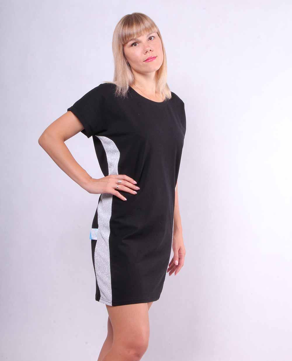 """Жіноче молодіжне плаття """"Лампас"""" р. 42-50"""