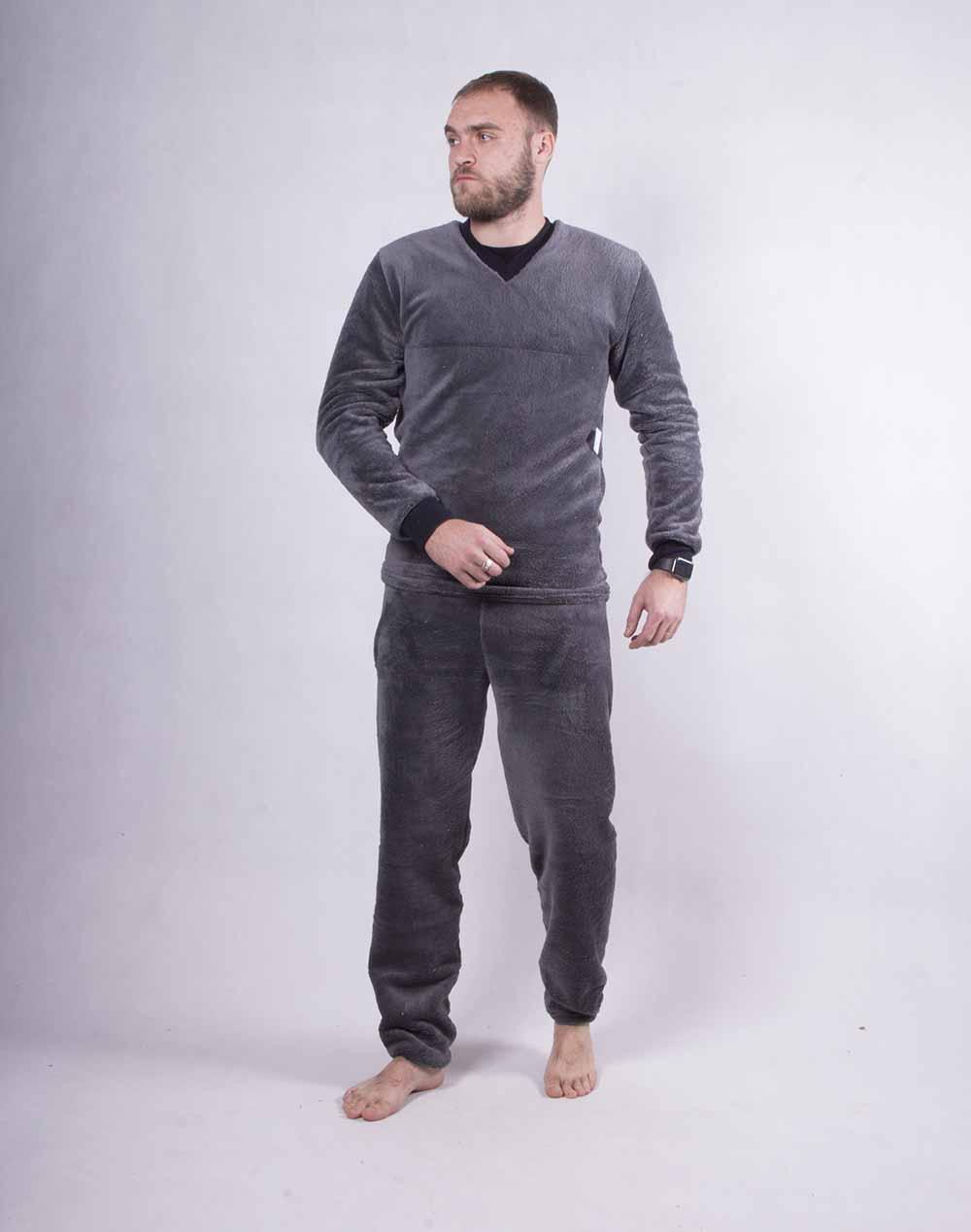 Махровая мужская пижама В НАЛЧИИ ТОЛЬКО 60 Р.