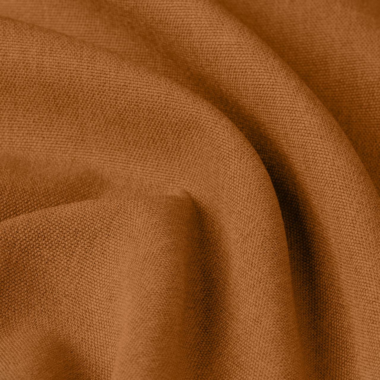 Тканина для штор Блекаут фактурний помаранчевий Туреччина 124000v5 сонцезахисна, затемнююча.