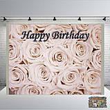 Банер на день народження  2х2, на  1  рочок хлопчику  Печать баннера  Фотозона Замовити банер З Днем народже, фото 8