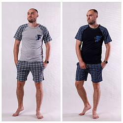 "Мужская летняя пижама футболка с шортами ""Ford "" 44-60"