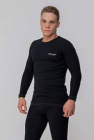 Супертеплая  мужская термофутболка Totalfit Extra TMR1-VH10 S Черный