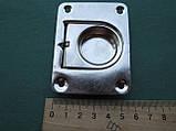 Нержавіюче підйомне кільце для пайол 76х57 мм, фото 6