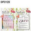 Nail Art ЗD наклейки -стікери для дизайну нігтів на липкій основі кольорові ( бренди ), фото 6
