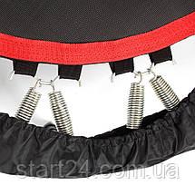 Батут для фитнеса с поручнем inSPORTline PROFI Digital 100см, фото 2