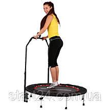 Батут для фитнеса с поручнем inSPORTline PROFI Digital 100см, фото 3