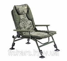 Карповое кресло Mivardi CamoCODE Arm до 130 кг (M-CHCCA)