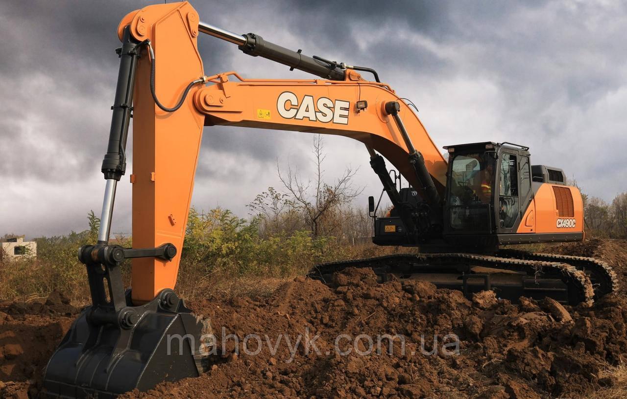 Капітальний ремонт екскаваторів CASE