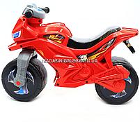 Детский Мотоцикл толокар Орион музыкальный (красный). Популярный транспорт для детей от 2х лет, фото 2