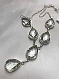 Горный хрусталь ожерелье колье с горным хрусталем. Индия!, фото 2