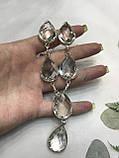Горный хрусталь ожерелье колье с горным хрусталем. Индия!, фото 4