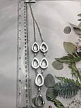 Горный хрусталь ожерелье колье с горным хрусталем. Индия!, фото 5