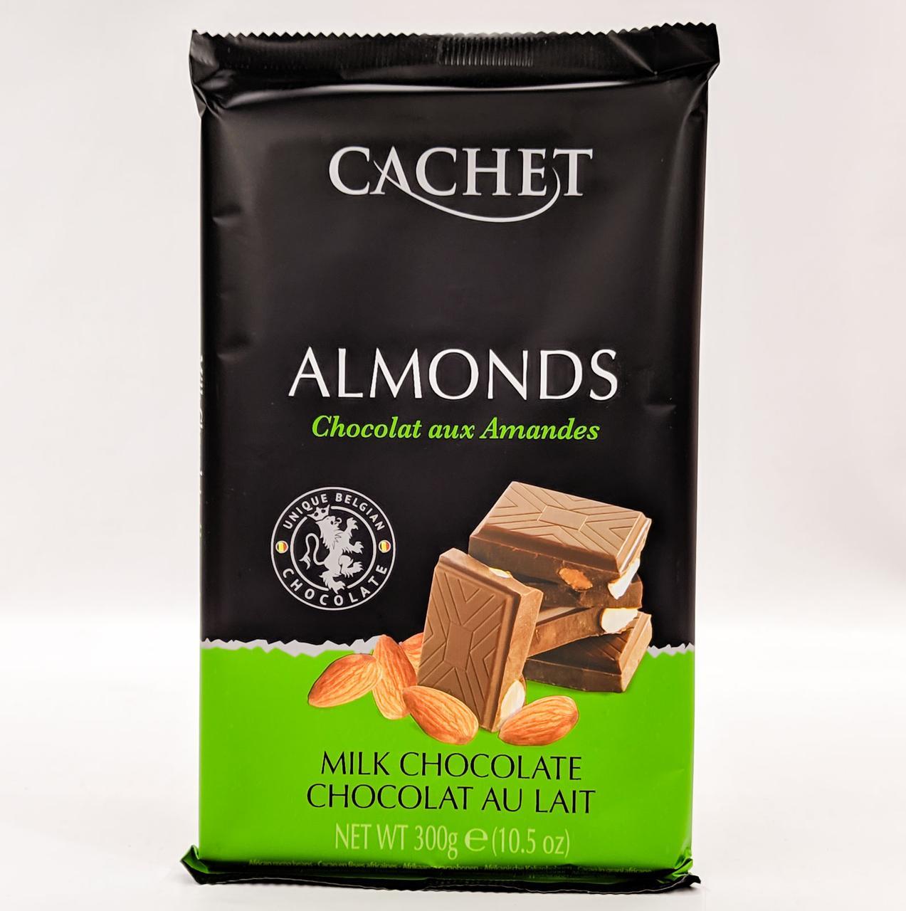 Cachet milk chocolate Almonds 300 gramm