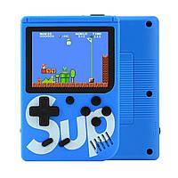 Ігрова Приставка денді 8 біт Retro Game Box Sup 400in1 портативна ретро консоль Синя (Game Box 400in1) (GIPS)