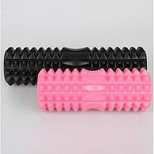 Ролер масажний, фоам ролер, Foam Roller, фітнес валик, йога ролик, 33х13 см