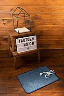 Электро-коврик с подогревом (синий, закругленные углы 50 x 33 см) электрический Трио 01502 (GIPS)