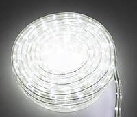 (GIPS), Світлодіодна дюралайт гірлянда на 8 метрів, Біла, LED гірлянда для вулиці | новогодняя гирлянда на улицу