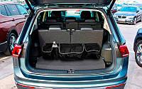 Органайзер в багажник автомобіля з липучками і ременями фіксаторами, органайзер на спинку сидіння (GIPS)