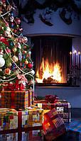 (GIPS), Інфрачервоний обігрівач-картина настінний Новий рік, з доставкою по Києву та Україні Тріо