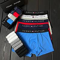 Мужские Трусы Tommy Hilfiger 5 шт + набор носков 9 пар