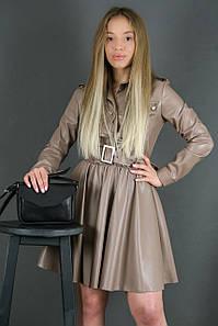 Сумка женская. Кожаная сумочка Лилу, Итальянская кожа Краст, цвет Черный