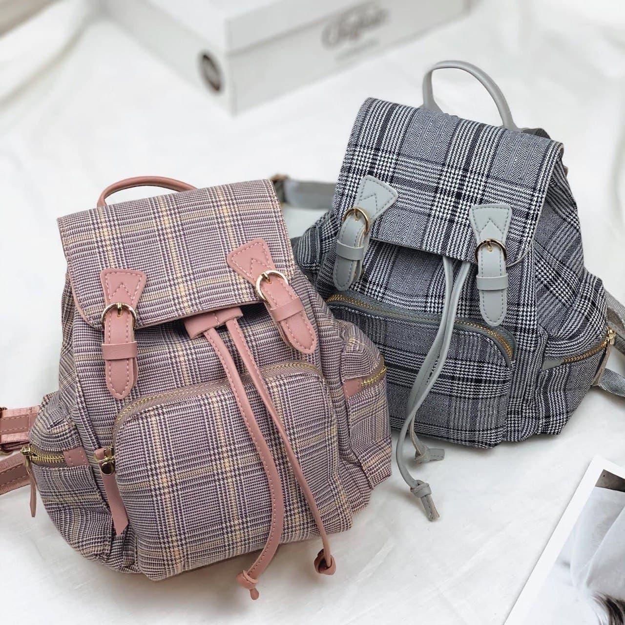 Невеликий рюкзак твідовий