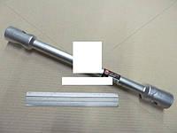 Ключ балонный для грузовиков d=22мм, 30x32x395мм