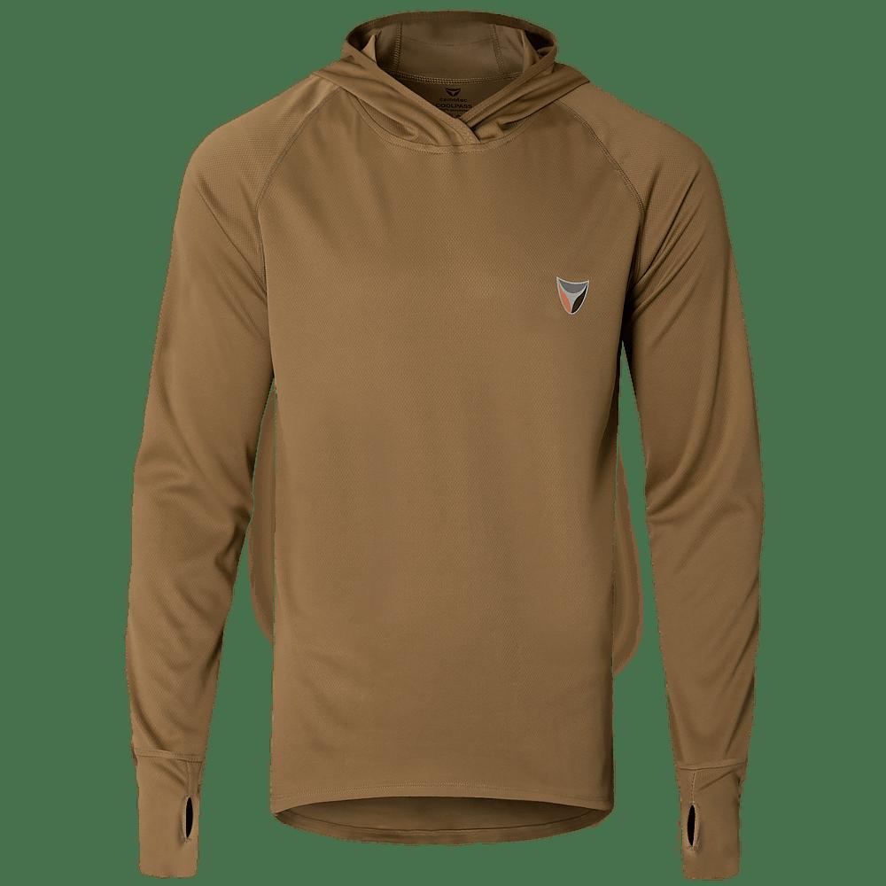 Футболка Long Sleeve с капюшоном Hood Antistatic Coyote