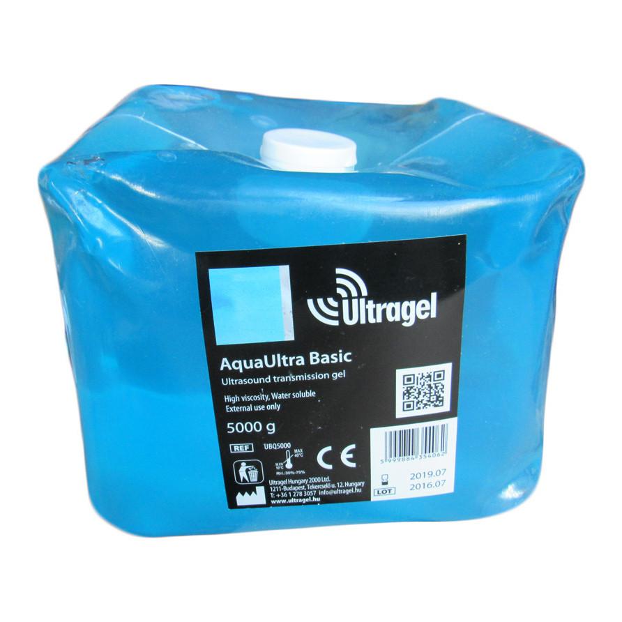 Гель для УЗИ AquaUltra Basic Ultragel Hungary 5000г