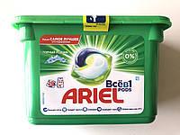 Капсули для прання Ariel все в 1, гірський джерело ( 15 шт)
