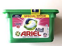 Капсули для прання Ariel pods 3 in 1 Touch of Freshness Downy ( 15 шт)