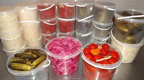 Пластикове відро для засолювання і продуктів 10л, фото 2