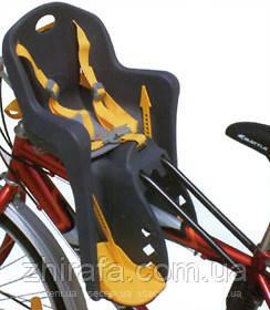 Дитяче велокрісло з кріпленням спереду і ременями безпеки TILLY Mini. Від 1 до 3х років