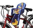 Дитяче велокрісло з кріпленням спереду і ременями безпеки TILLY Mini. Від 1 до 3х років, фото 2
