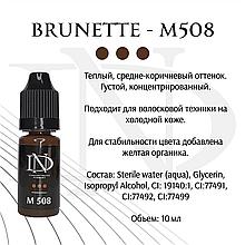 Пигмент для бровей Brunette - M-508