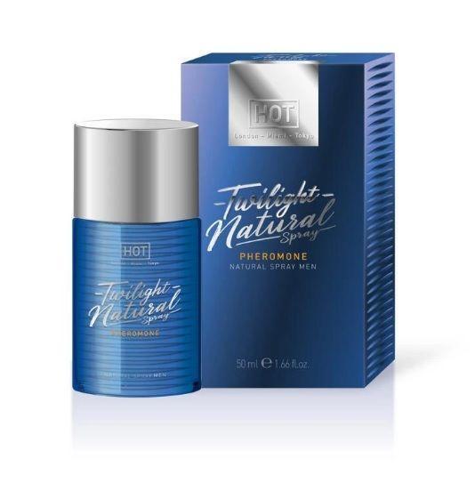 Спрей з феромонами чоловічий без запаху HOT Twilight Pheromone Natural Spray men 50 ml