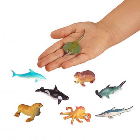 """Набір реалістичних фігурок """"Океан"""" (8 шт) Lakeshore"""