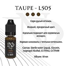 Пигмент для бровей Taupe - L-505