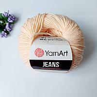 Пряжа YarnArt Jeans 73 персик