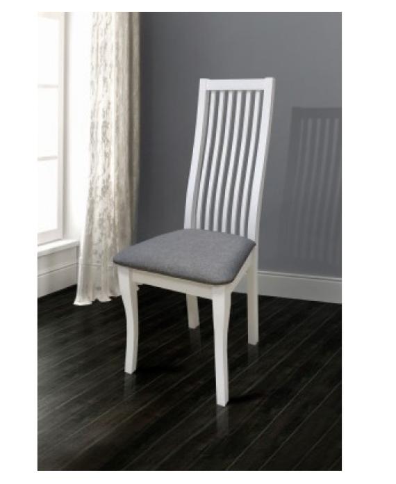 Классический стул -Жасмин белый(мягкая сидушка)