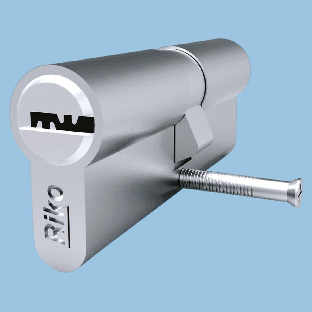 Циліндр замка SN Riko AZ 35x45 (кл.-кл.) комп'ют. ключ / ключей 5 шт. (50шт/упак)