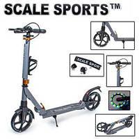 Самокат Scale Sports Scooter SS-20 двоколісний складний до 100 кг Колеса світяться Original