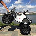 Детский электрический квадроцикл Grizzly 2WD 8868  (колеса резина, сиденье кожа, музыка), фото 2